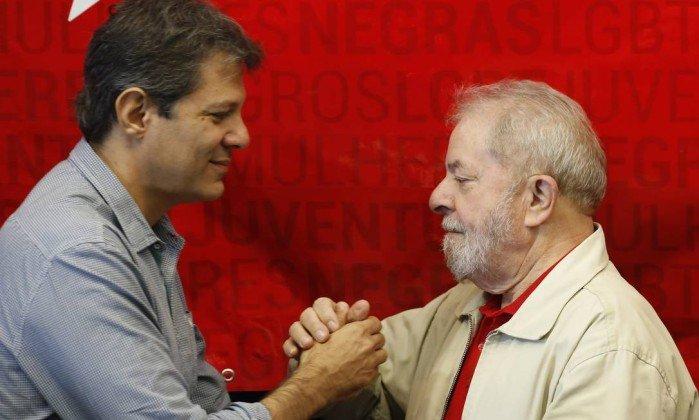 Lula Haddad Bolsonaro eleição