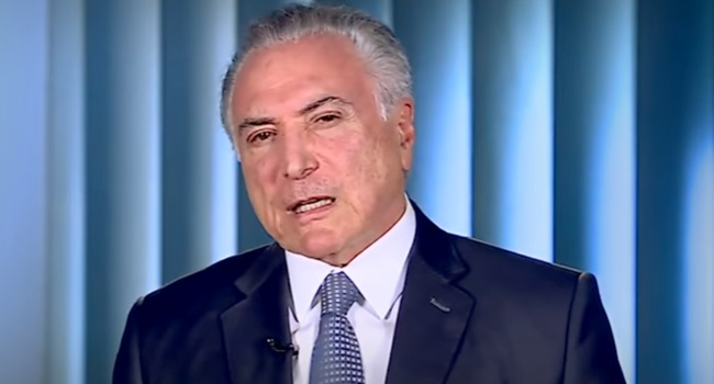 Michel Temer irrita Geraldo Alckmin evídeo