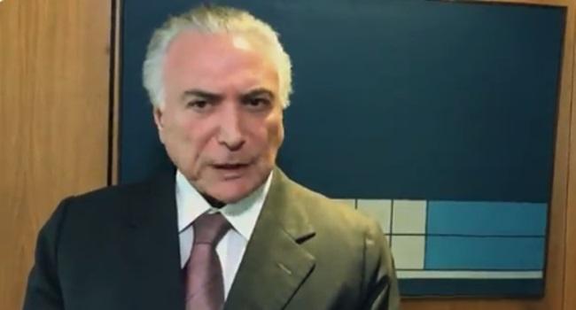 Michel Temer youtuber João Doria falas PSDB tucano golpistas