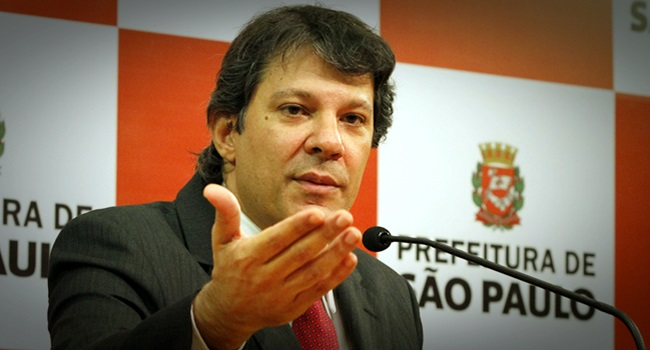 Mídia tradicional Haddad prefeito exemplar São Paulo