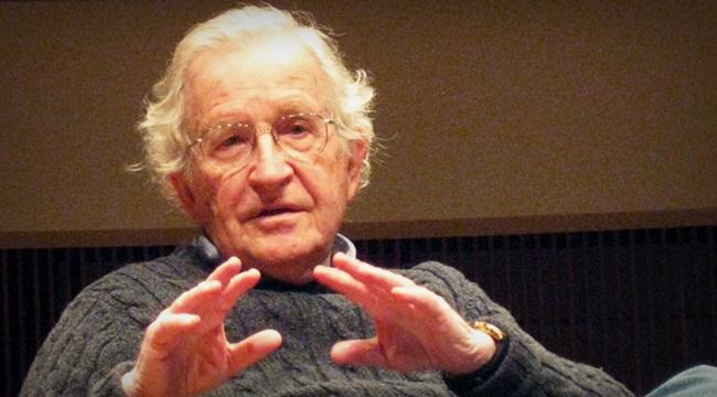 Noam Chomsky crescimento extrema-direita sociologia