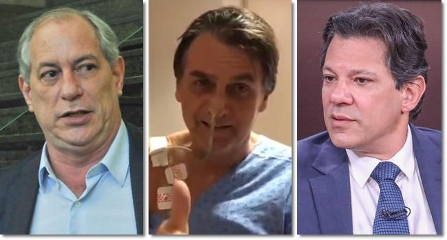 pesquisa BTG Haddad Ciro Bolsonaro crescem eleições 2018