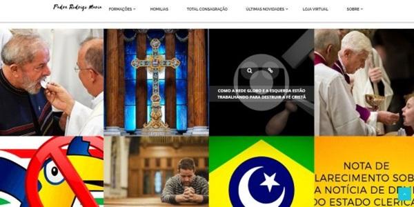 Padre Rodrigo Maria abusou de freiras campanha para Bolsonaro