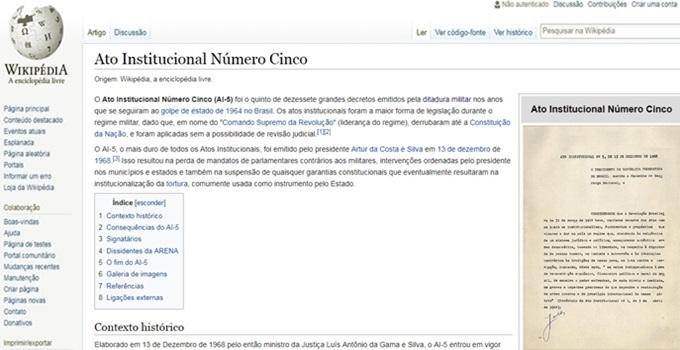 Polícia Militar edita ditadura na Wikipédia São Paulo eleições