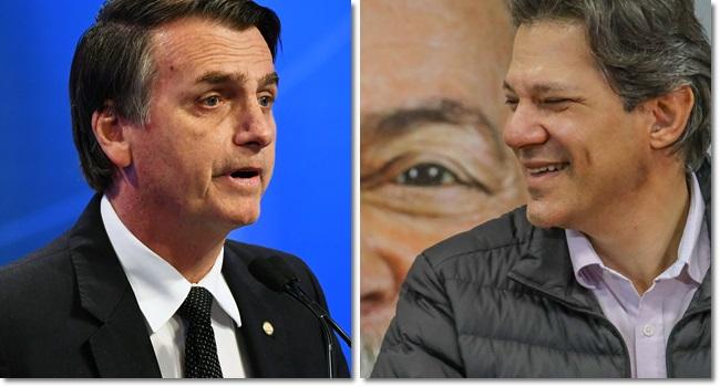 possível Haddad e Bolsonaro dilema mídia desonesta Alckmin ódio