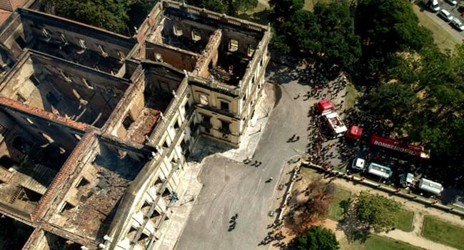 Presidenciáveis manifestam incêndio Museu Nacional tragédia