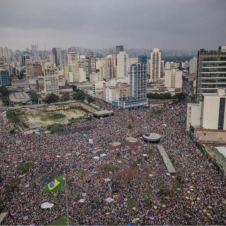 #EleNão largo da batata Bolsonaro
