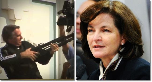 Raquel Dodge rejeita PT Bolsonaro fuzilar esquerda