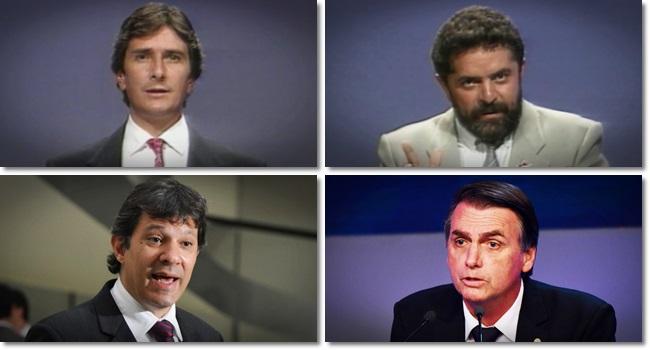 semelhanças eleições de 1989 eleições de 2018