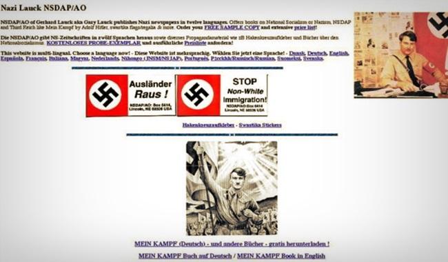 sul do brasil conteúdo neonazista internet