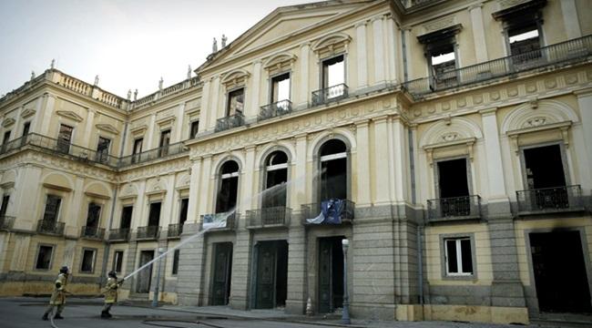 tesouros perdidos no incêndio do Museu Nacional