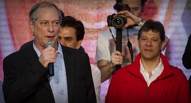 União de Haddad e Ciro Gomes transformar brasil pobreza