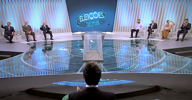 Adversários explorar ausência de Bolsonaro debate da Globo