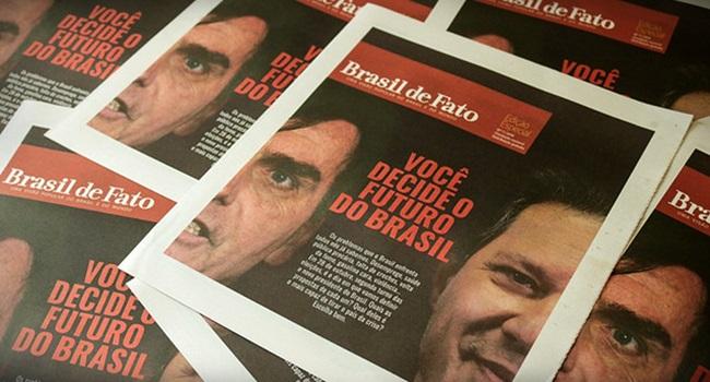 Ataque à imprensa Brasil de Fato censura bolsonaro eleições