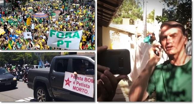 Bolsonaro aniquilar opositores PT declaração grave eleição stf