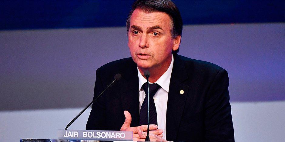 Jair Bolsonaro debate da band