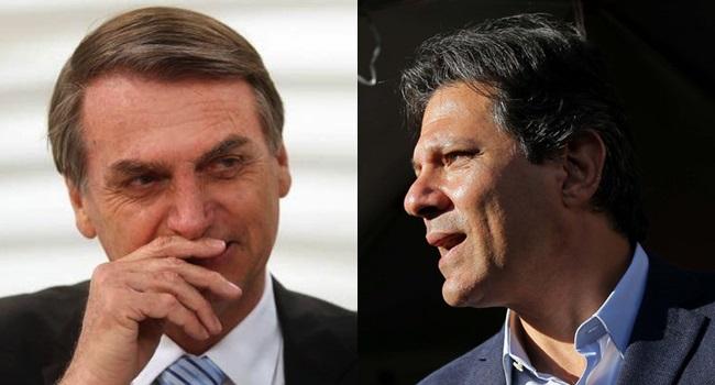 Bolsonaro Haddad canalha combate às fake news