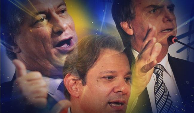 Bolsonaro Haddad Ciro comparações históricas eleições 2018
