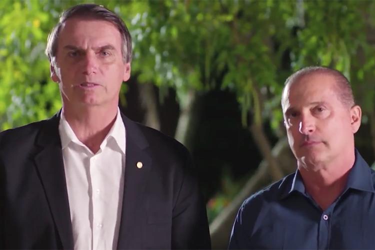 Bolsonaro e Onyx Lorenzoni