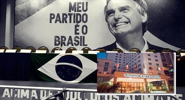 Bolsonaro festa comemorar vitória 1º turno eleições 2018