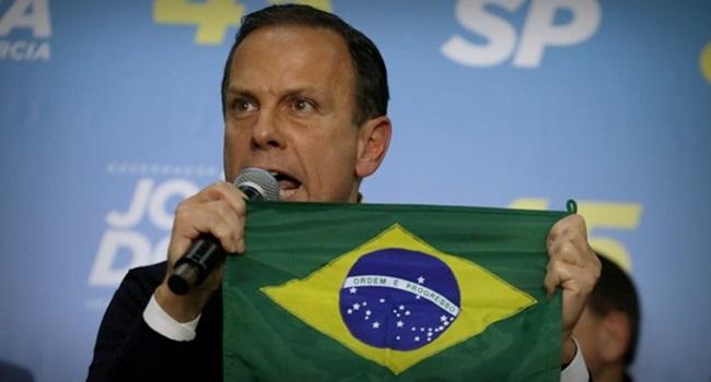 Declaração de amor João Doria Bolsonaro Major Olímpio eleições 2018 São Paulo