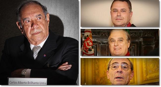 Desembargadores torturador Brilhante Ustra laudo forjado ditadura