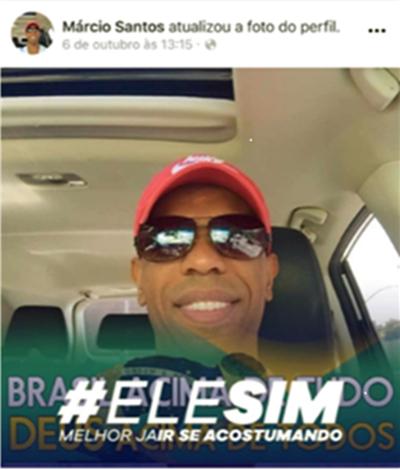 Márcio Santos Diretor da TV Record campanha pró-Bolsonaro edir macedo eleições