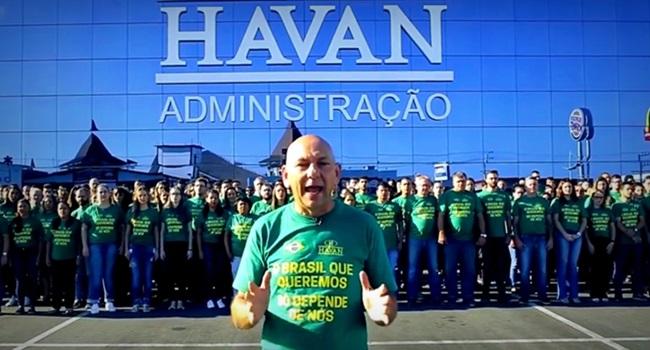 Dono da Havan coagir funcionários votar Bolsonaro