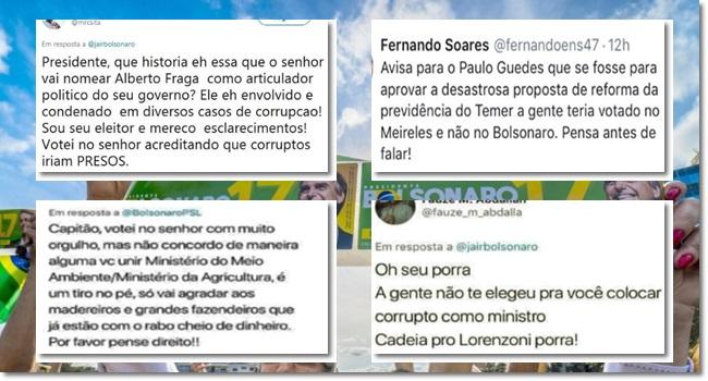 Eleitores de Bolsonaro arrependem preocupação alberto grafa meio ambiente