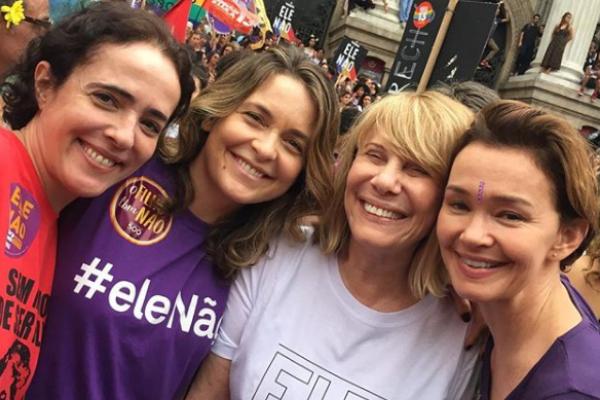 Bolsonaro cresceu mulheres #EleNão eleições 2018