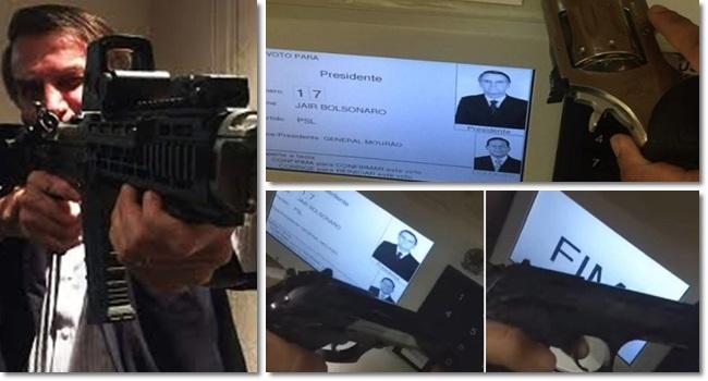 amostra grátis governo Bolsonaro violência morte ódio armas de fogo