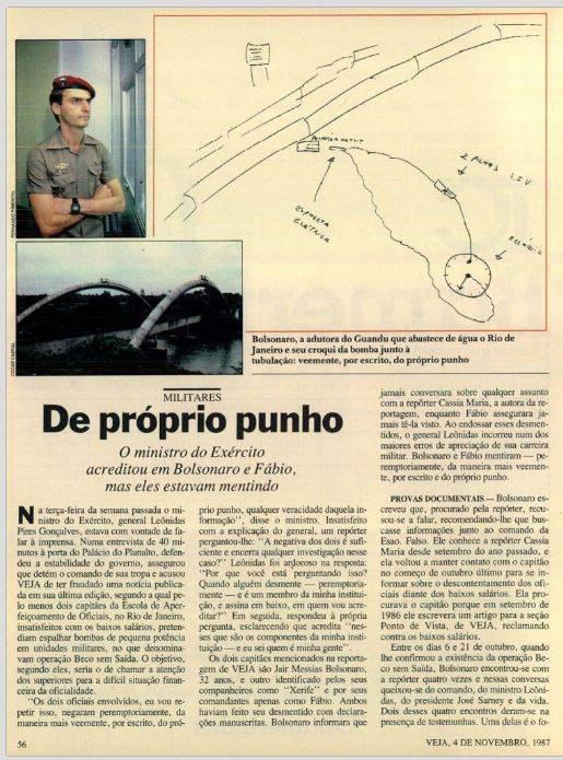 Estudo criou Jair Bolsonaro grande mídia estadão folha globo militar