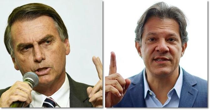 fake news prejudicaram Haddad atacaram Bolsonaro eleições internet