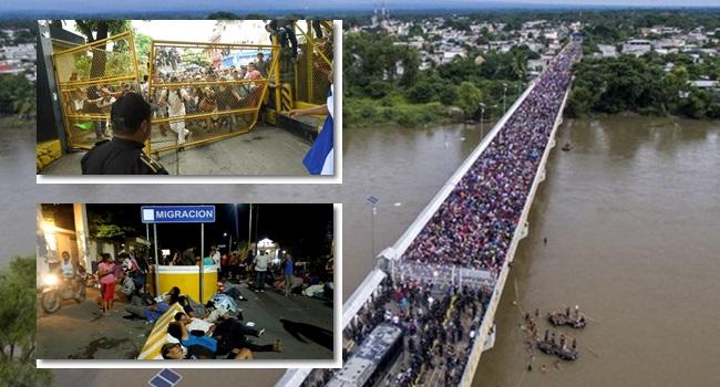 Famintos hondurenhos EUA emprego segurança imigração