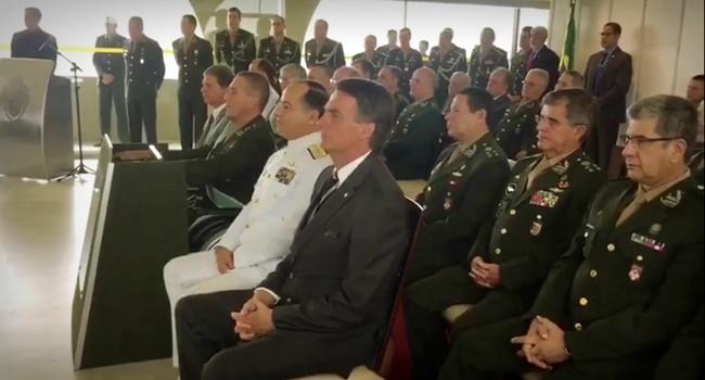Forças Armadas substituir jair Bolsonaro eleições 2018