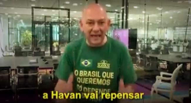 Funcionários Havan dono votar Bolsonaro