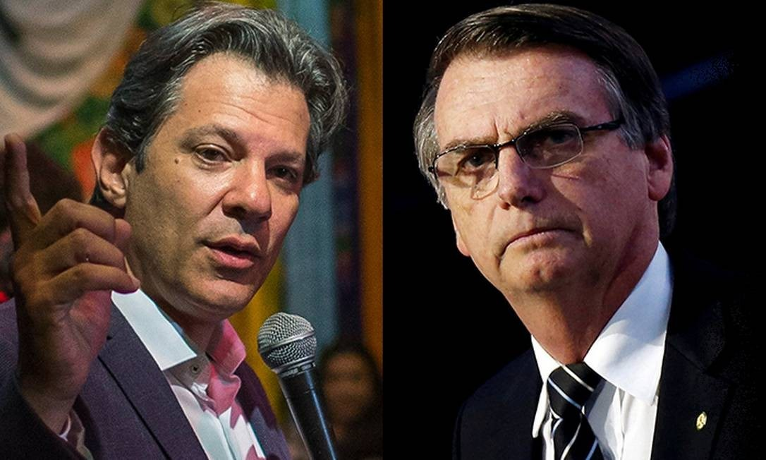 Haddad Bolsonaro pesquisa Datafolha