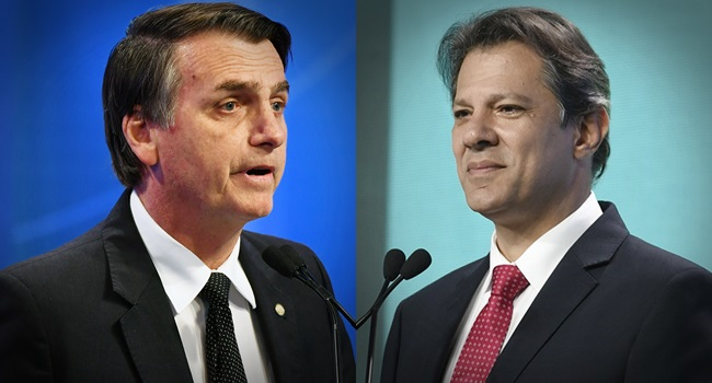 Haddad e Bolsonaro debates no 2º turno eleições