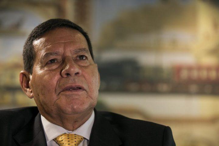 Mourão vice de Bolsonaro