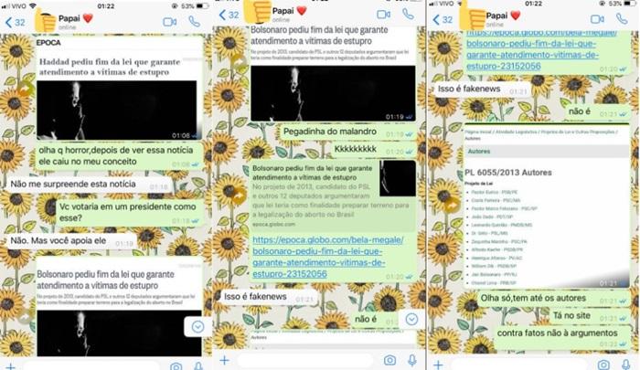 hashtag confundindo a cabeça dos eleitores de Bolsonaro