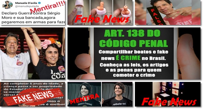 Justiça remover notícias falsas Fake news Fernando Haddad