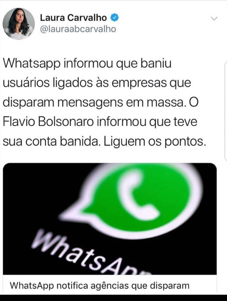 conta whatsapp filho bolsonaro