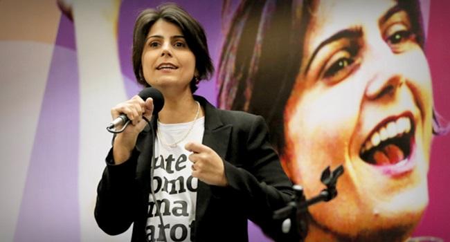 Manuela D'Ávila principal vítima fake news eleições 2018 ódio