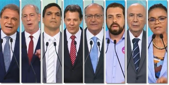 mudar formato dos debates presidenciais brasil eleições tréplica