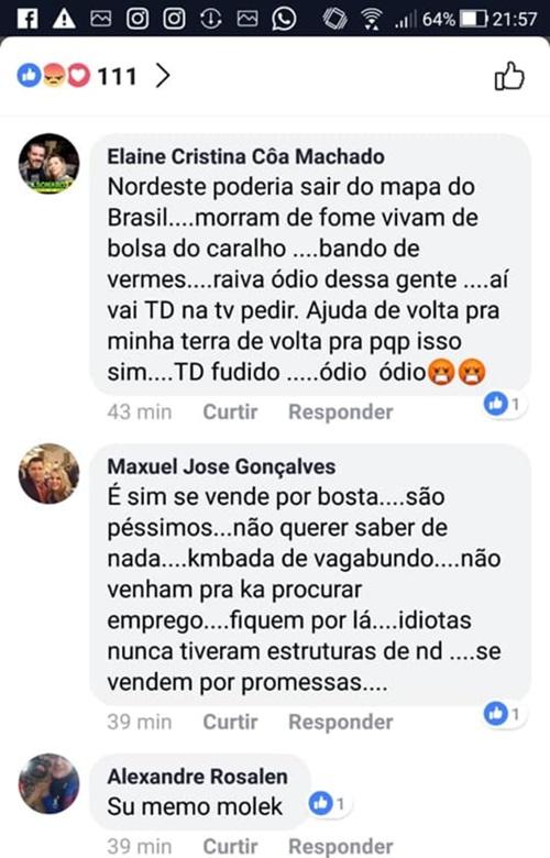 Nordestinos atacados votarem em Fernando Haddad xenofobia