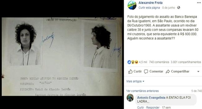 Notícia falsa Miriam Leitão viraliza redes sociais alexandre frota