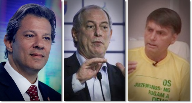 números novo ibope eleição presidencial bolsonaro haddad