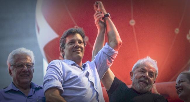 Objetivo de Sergio Moro Haddad ganhar 1º turno bolsonaro eleições