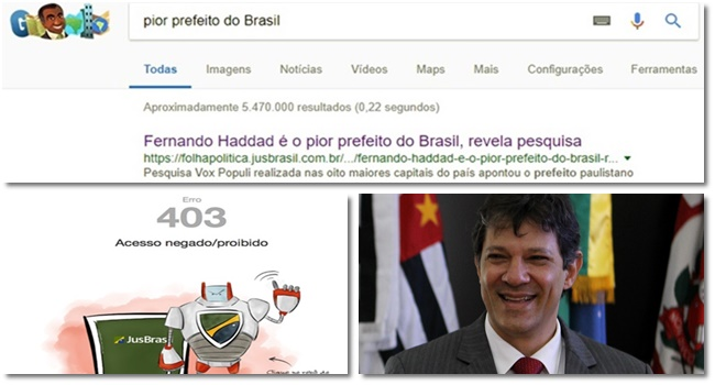pior prefeito do Brasil fake news haddad boataria manipulação