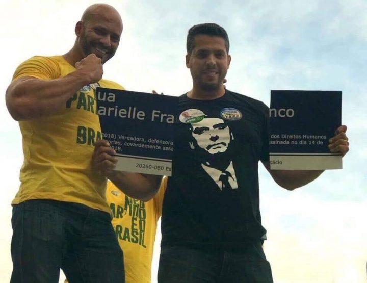 eleitores bolsonaro placa marielle franco